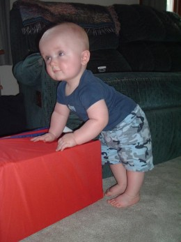 AJ at 9 months old.