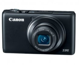 The Canon PowerShot S95 was my Top Rated pocket Camera of 2011.