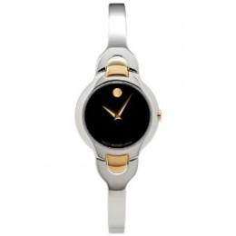 Kara Stainless Steel Bangle Bracelet Watch