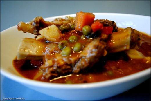 Beef Spare Ribs Caldereta