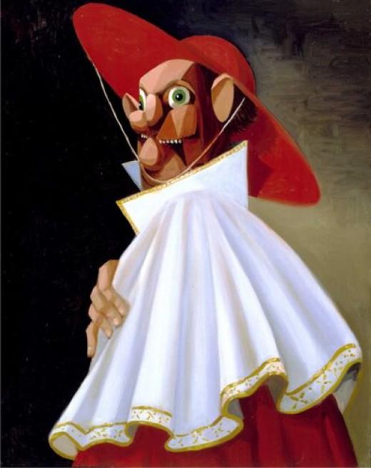 Cracked Cardinal