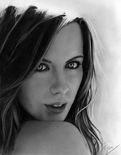 How to draw realistic graphite portraits from pictures
