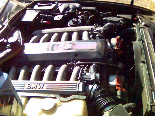 BMW V12 motor as found in the 8 series.