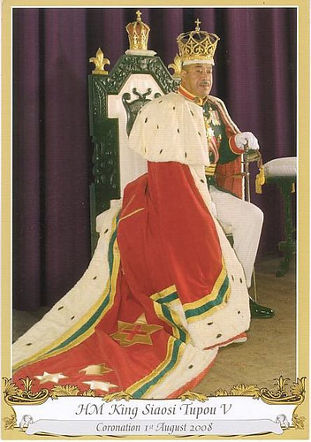 The current King of Tonga 2011