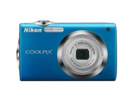 The Nikon Coolpix S3000 Point and Shoot Digital Camera is available in six colors; black, blue, green, orange, plum and silver.