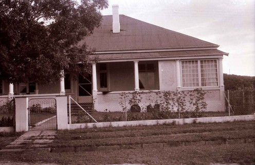 The house in Butterworth where my parents lived