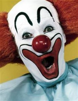 Bozo the Clown from [IMG]http://i166.photobucket.com/albums/u118/swimskisurf/bozo.jpg[/IMG]