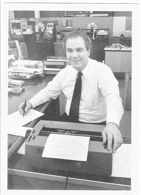 William F. Torpey at The Hour news desk