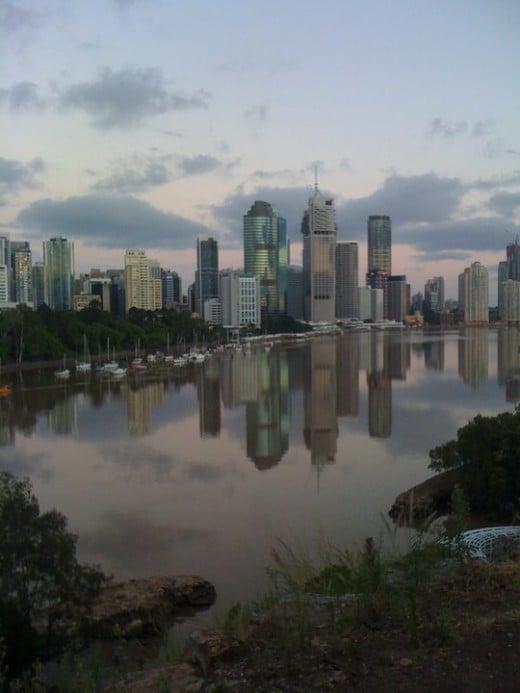 Brisbane Day after the Floods