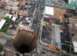 Watch Out for Those Sinkholes