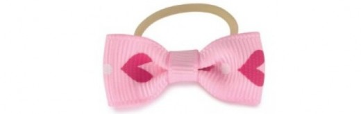 Pink fashion bow accessories for your small dog