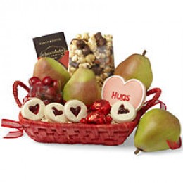 Sweet Somethings Basket with Royal Riviera Pears