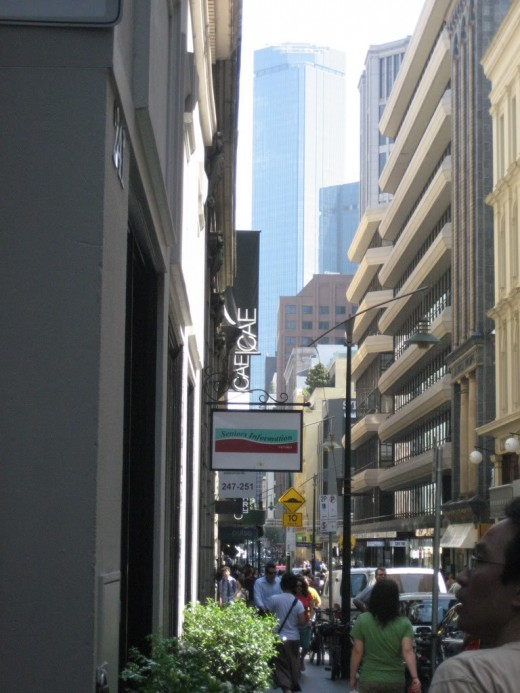 Flinders Lane Melbourne.