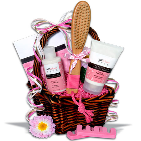 Complete Foot Care Gift Basket