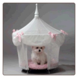 Pink Princess Dog Bed