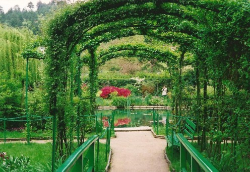 Iron Archway at Monet's Gardens