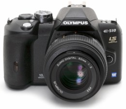 Olympus E-510 DSLR.