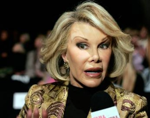 Joan Rivers looks straight outta Star Trek.