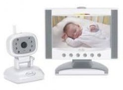 "Flat Screen Color Video Monitor with 7"" LCD Screen"