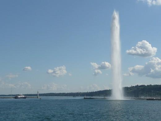 The Jet dEau Fountain