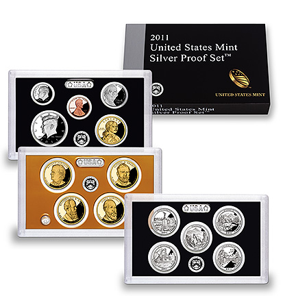 2011 Mint Silver Proof Set