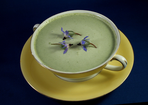 Borage soup