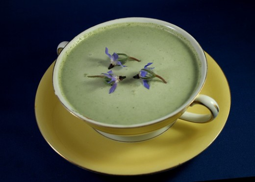 Borage soup