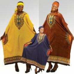 Очень плохо.  Африканский национальный костюм...  Хорошо.
