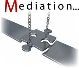 Mediation is a commonly used tool for attending to life altering issues.