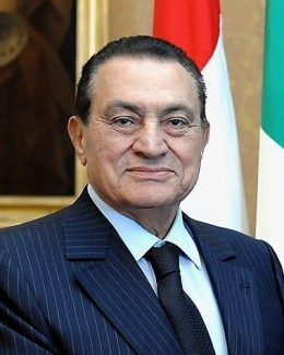 President Hosni Mubarak - the Beloved and Very Democratically Elected President of Egypt for Over 40 Years.