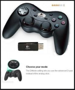 Logitech Precision Cordless PS3 Controller