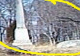 Close up of the marked area in the first photo