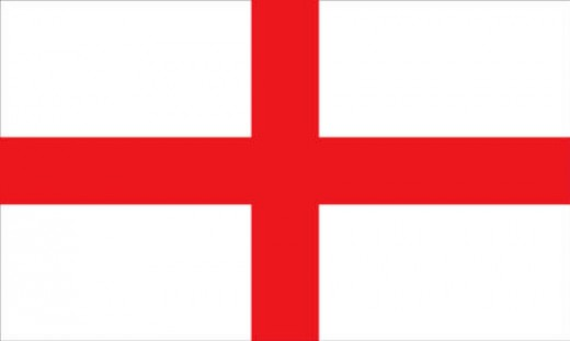 Cross of Saint george - the Flag of England