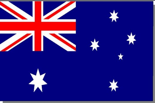 The Southern Cross on the Australian flag
