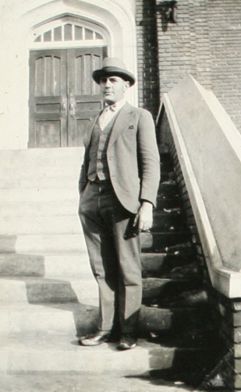 Picture of my dashing Grandpa Anderson when he attended university.