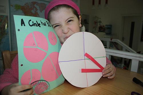 Cranky face during math