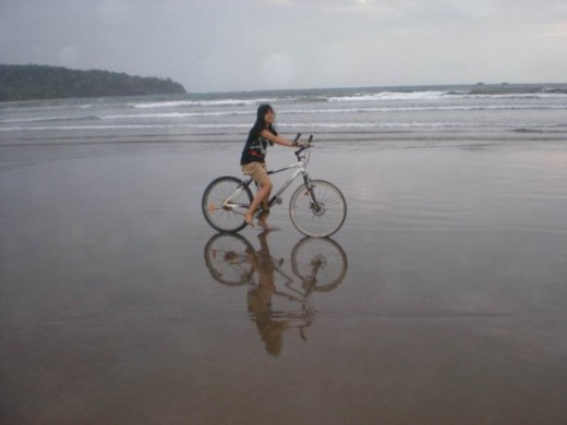 Cycling is a good, low impact exercise.