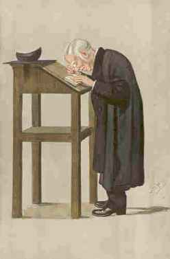 Contemporary cartoon of Spooner