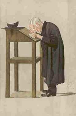 Contemporary cartoon of Spooner