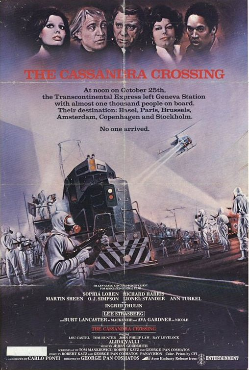 The Cassandra Crossing movie poster