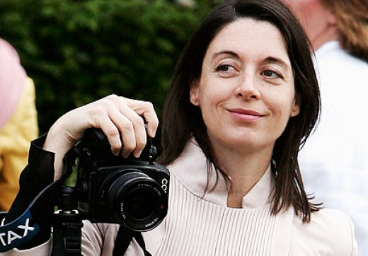 Mary McCartney (doesn't she look like her dad?)