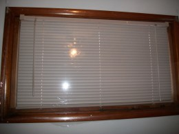 Plastic over the window can trap in heat and prevent icy winds from getting inside.