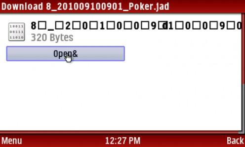 4) CLICK Open&