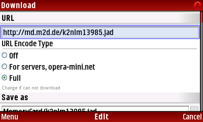 6) CLICK on jad URL then DELETE the http-colon-stroke-stroke then save it to the MULTI-CLIPBOARD