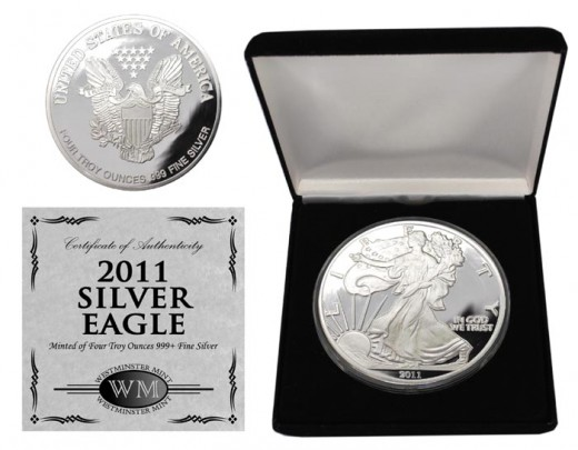 2011 Silver Eagle Proof