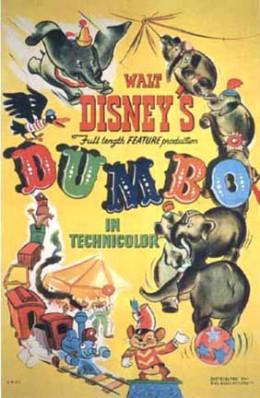 """Original poster for """"Dumbo."""""""