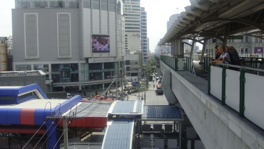 Sikhumvit/Asoke Intersection