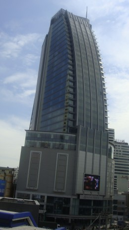 Nearby hotel