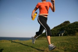 Exercising or at least a 30 minute walk each day can help improve mood.