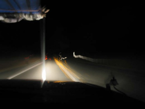 If things are getting blurry, it is time to get some sleep. Or maybe sober up. But definitely time to stop driving.